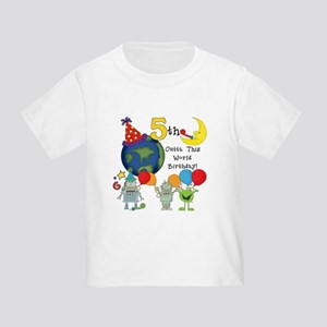 Outta This World 5th Toddler T-Shirt