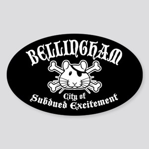 Bellingham Subdued Sticker (Oval)