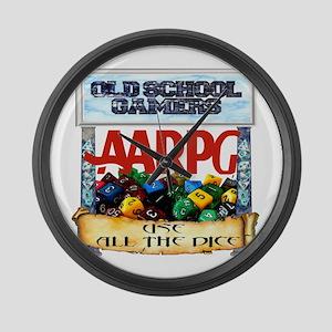 AARPG Large Wall Clock