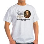 Ben Franklin Marriage Quote Ash Grey T-Shirt