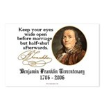 Ben Franklin Marriage Quote Postcards (Package of
