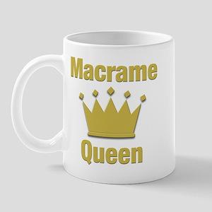 Macrame Queen Mug