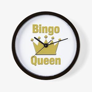 Bingo Queen Wall Clock