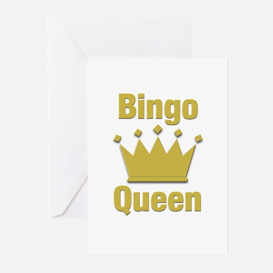 Bingo Queen Greeting Cards (Pk of 20)