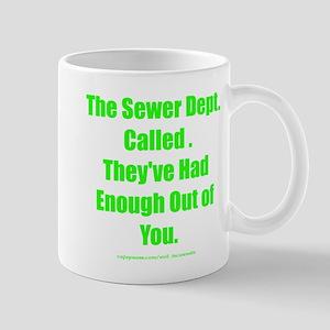 Sewer Dept. Mug