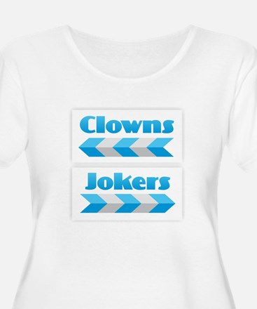 Clowns and Jokers Plus Size T-Shirt