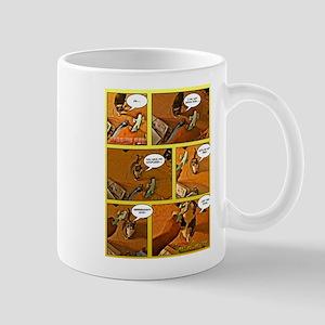 Begging cat Mug