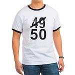 Great 50th Birthday Ringer T