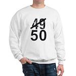 Great 50th Birthday Sweatshirt