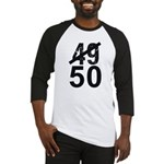 Great 50th Birthday Baseball Jersey