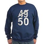 Great 50th Birthday Sweatshirt (dark)