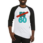 60th Birthday Gifts, 59 to 60 Baseball Jersey