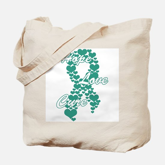 The Power of Teal Tote Bag