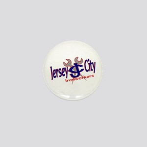 JERSEY CITY JERSEY Mini Button