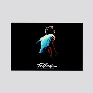 Footloose Ren Dancing Color Rectangle Magnet