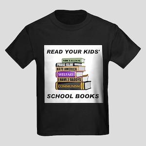 READ THEM AND WEEP Kids Dark T-Shirt