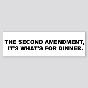 Guns In Bars - Bumper Sticker