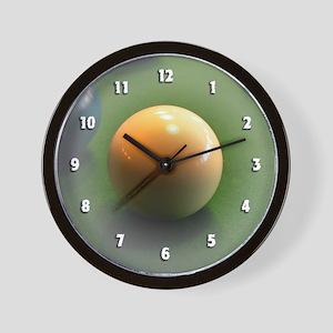 Cue Ball Wall Clock