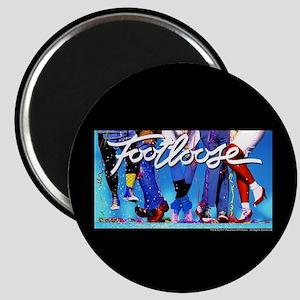 Footloose Dancing Feet Magnet