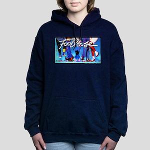 Footloose Dancing Feet Women's Hooded Sweatshirt