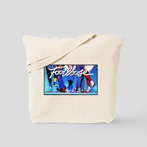 Footloose Dancing Feet Tote Bag