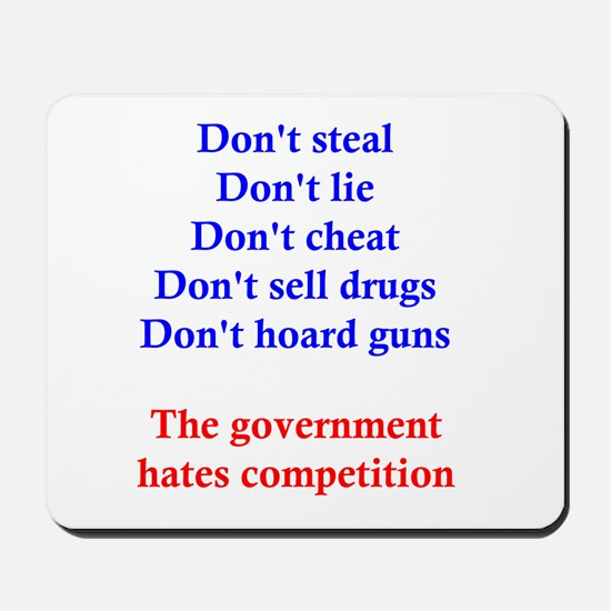 Government Competition Mousepad