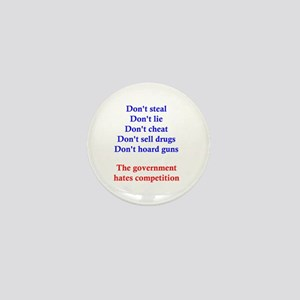 Government Competition Mini Button