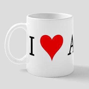 I Love Aztecs Mug