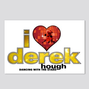 I Heart Derek Hough Postcards (Package of 8)