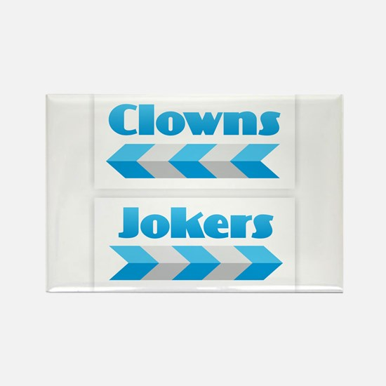 Clowns and Jokers Magnets