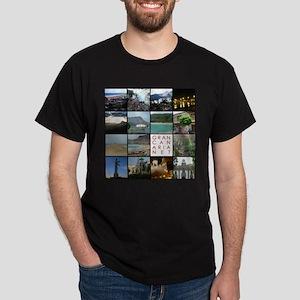 Gran Canaria Net Black T-Shirt