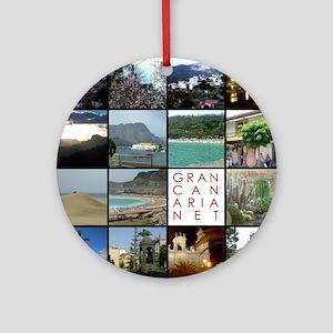 Gran Canaria Net Ornament (Round)