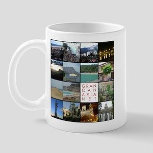 Gran Canaria Net Mug