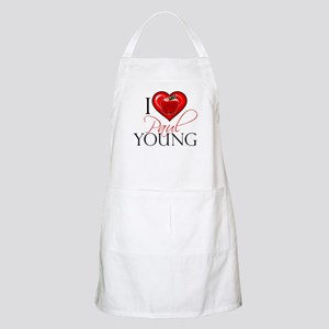 I Heart Paul Young Apron