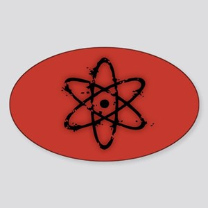 Nucular Atomics IV Sticker (Oval)