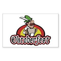 Oktoberfest Sticker (Rectangle)