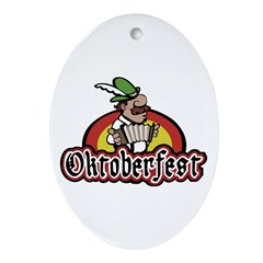 Oktoberfest Ornament (Oval)