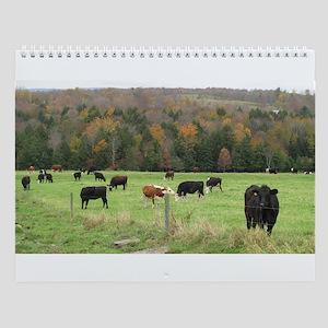 2011 Cow Wall Calendar