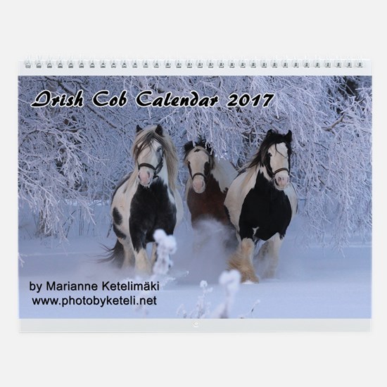 Irish Cob 2017 Wall Calendar