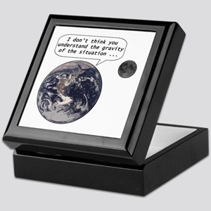 Gravity of the situation Keepsake Box