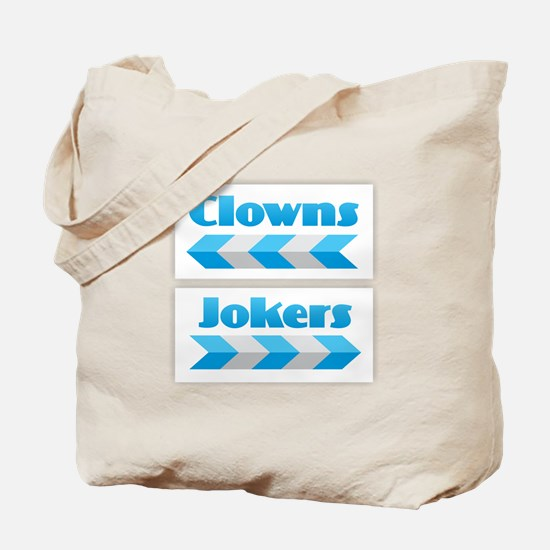 Clowns and Jokers Tote Bag
