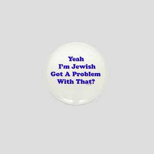Jewish Pride Mini Button