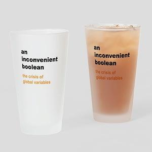 An inconvenient boolean Drinking Glass