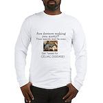 Gluten Free Squirrel Long Sleeve T-Shirt