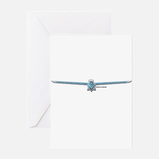 66 T Bird Emblem Greeting Card
