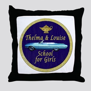 Thelma and Louise Throw Pillow
