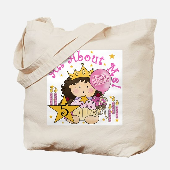 5th Princess Birthday Tote Bag