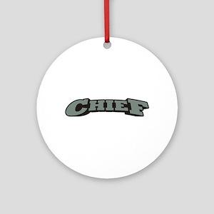 Chief Ornament (Round)