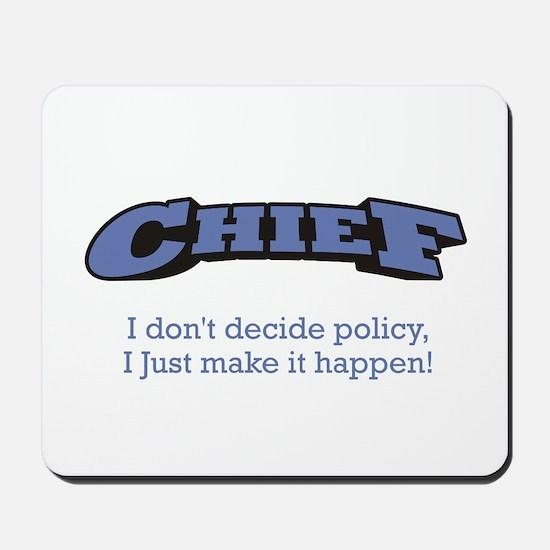 Chief - Happen Mousepad