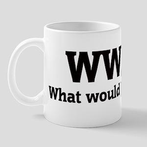 What would Jessica do? Mug